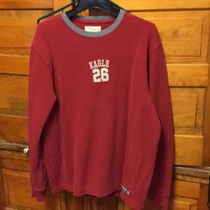 American eagle men's long sleeve sweater/t shirt